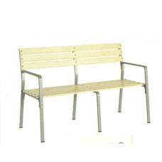 Беседа скамья с подлокотниками