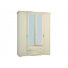 Белла 4-х створчатый шкаф